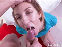 FIRST TIME ANAL SEX FOR RUSSIAN TEEN GIRL BEATA ROUGE